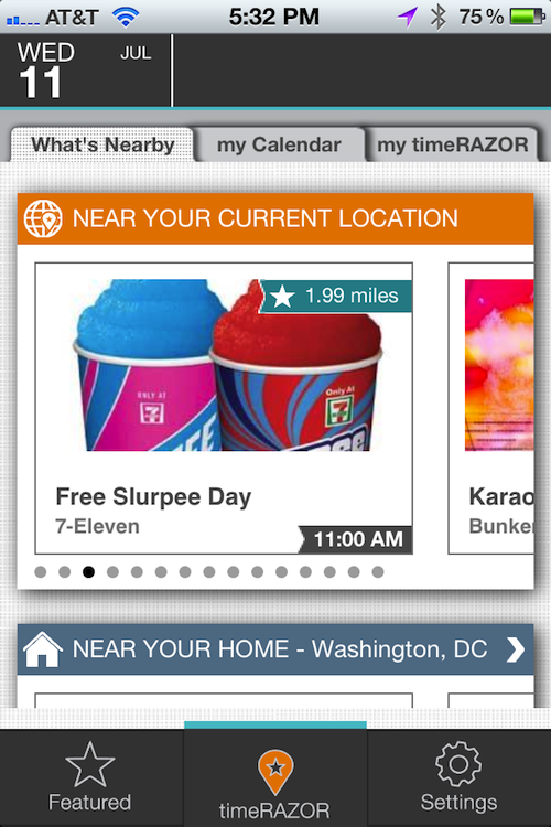 Don't miss out of your FREE Slurpee!