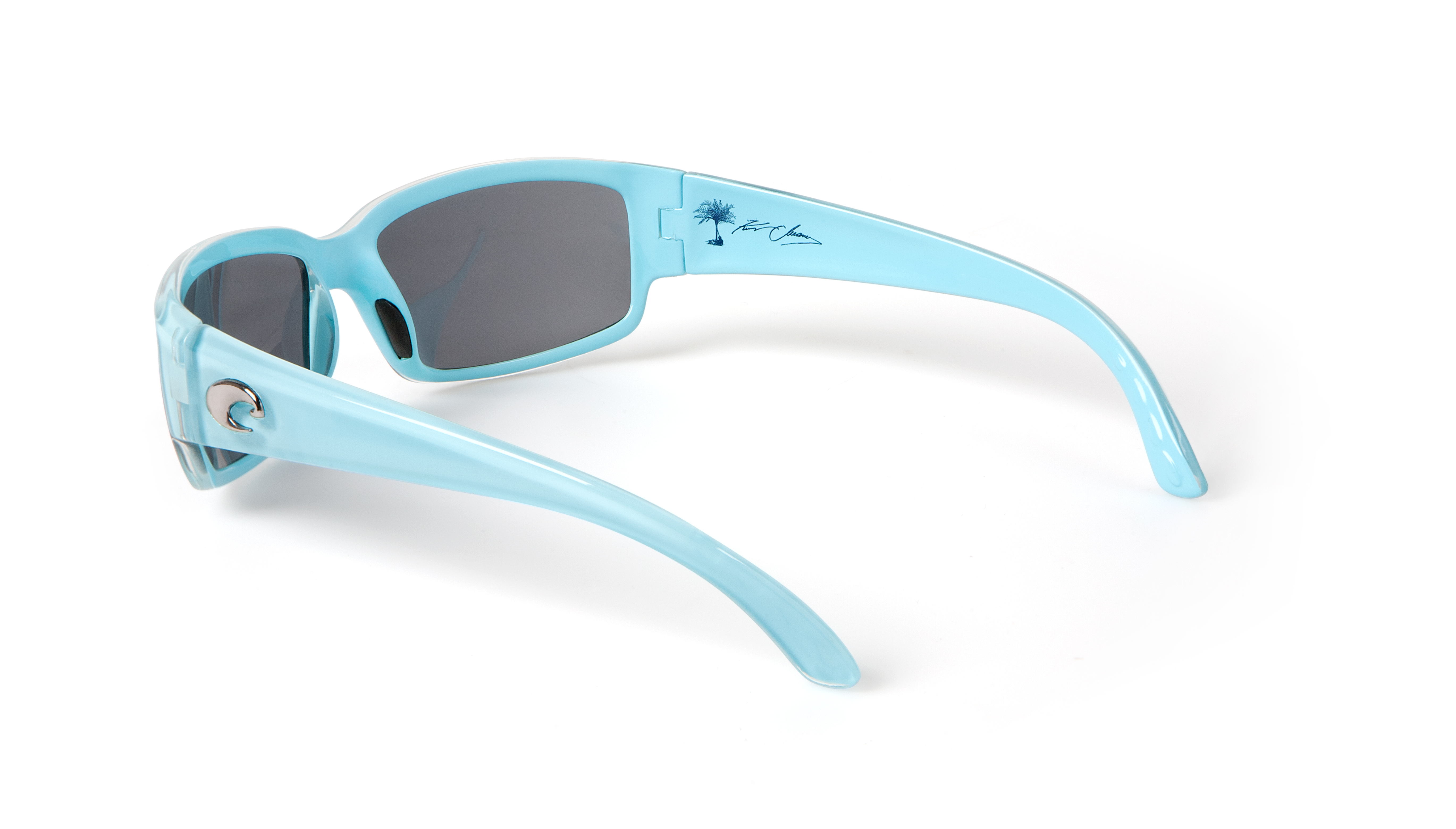 Sales of the new Kenny Chesney Limited Edition Costa Sunglasses will again benefit the Coastal Conservation Association. The Caballito style in blue with gray 580P lenses shown here.