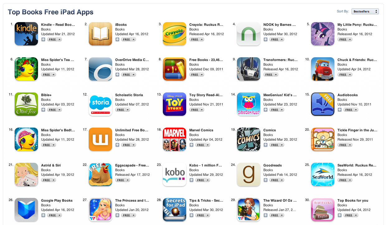 Top 50 iTunes FREE Apps