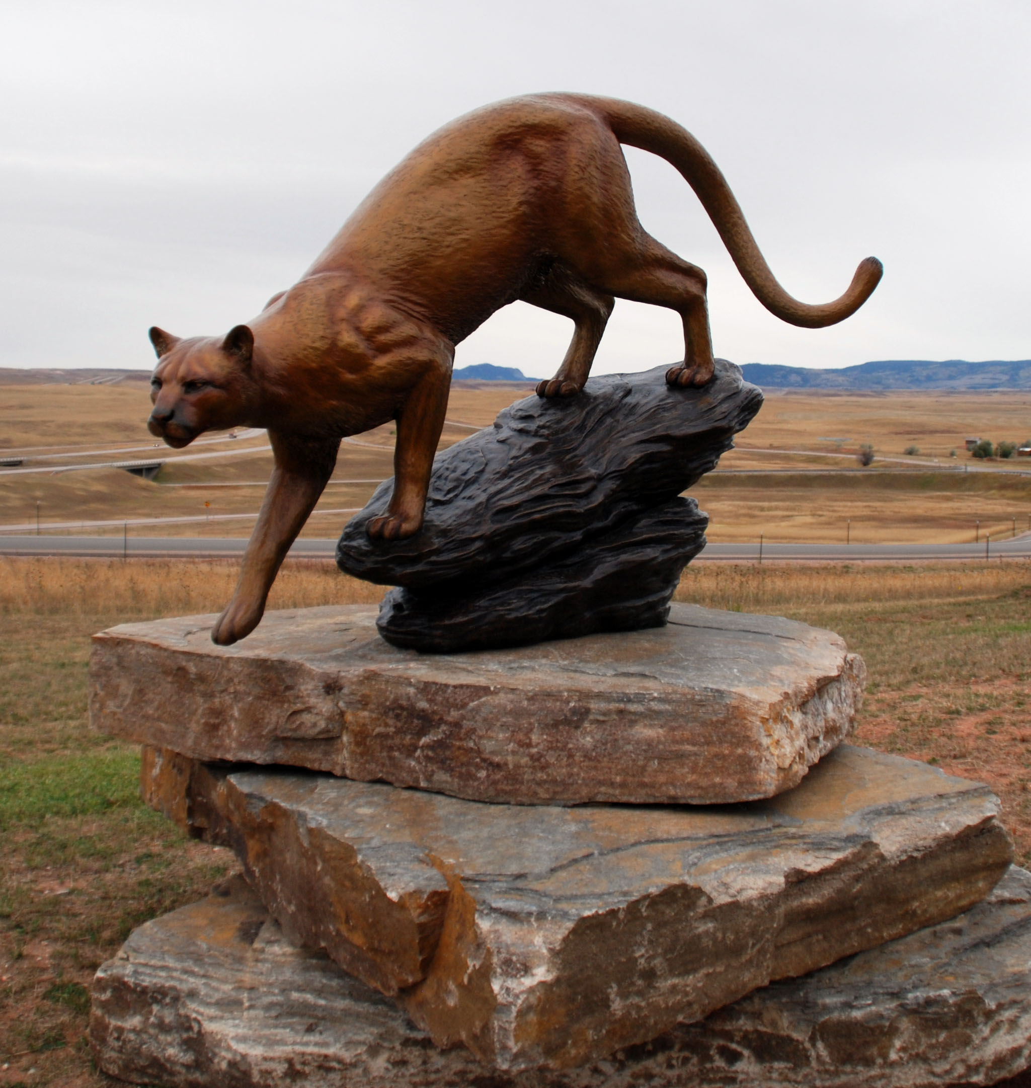 Mountain Lion Public Art