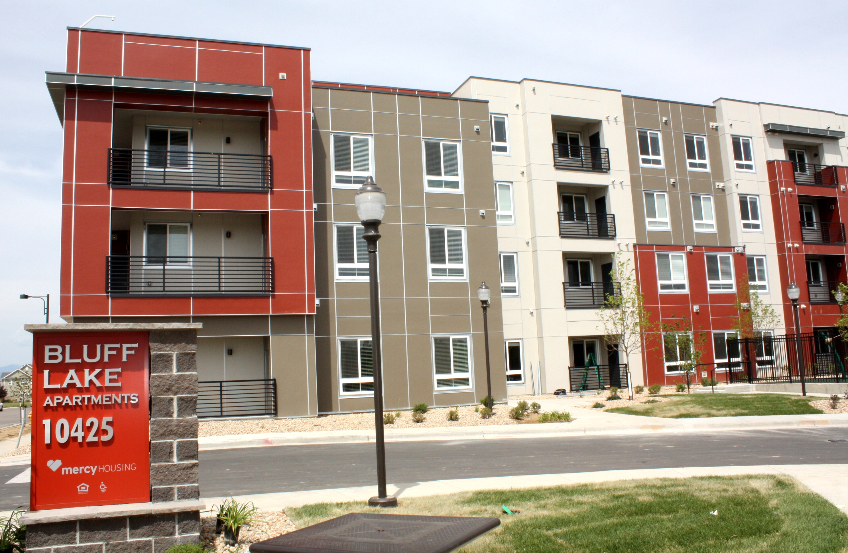 mercy housing welcomes bluff lake residents to affordable