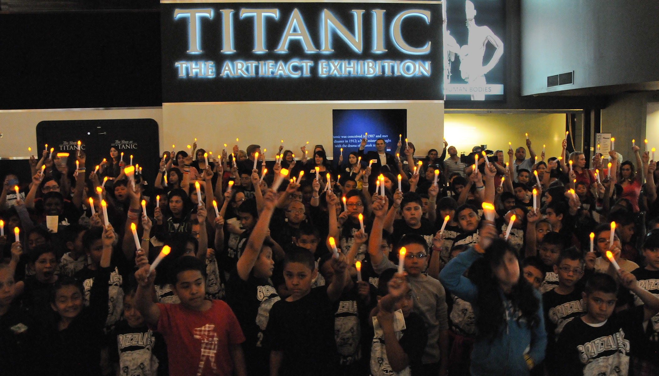 Titanic: The Artifact Exhibition commemorates the Centennial of RMS Titanic with Griffith Elementary School