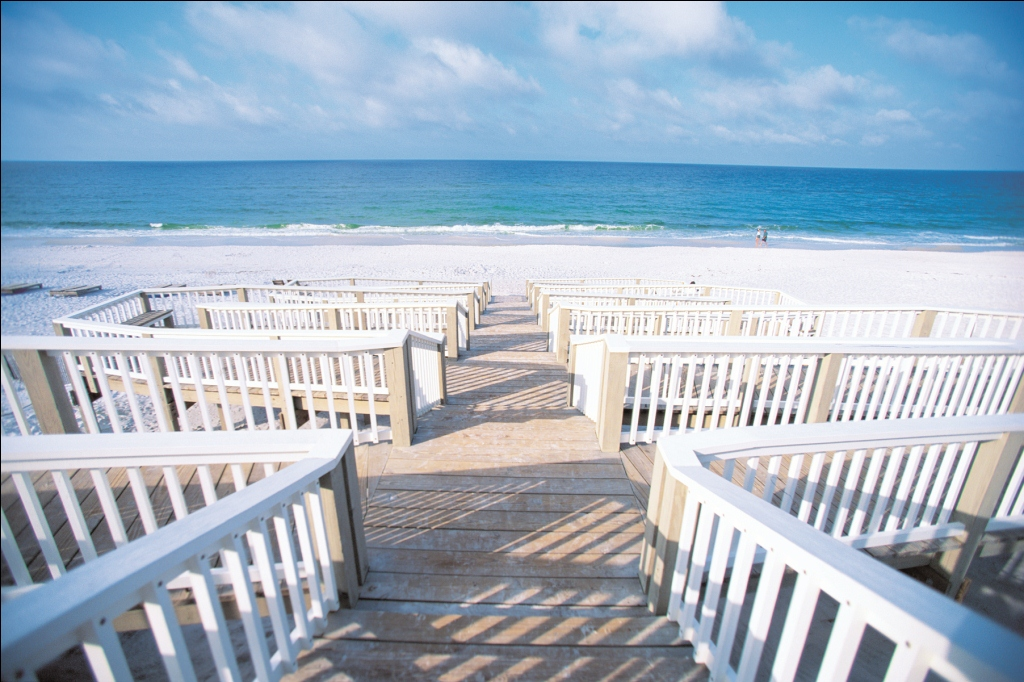 Boardwalk in Seaside, Florida