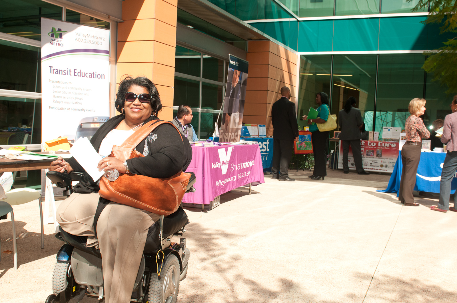 Savannah McKnuckles is a consumer of Arizona Bridge to Independent Living. [Photo Loren Worthington]