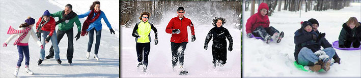 New Snow Fest activities at Sawmill Creek Resort.