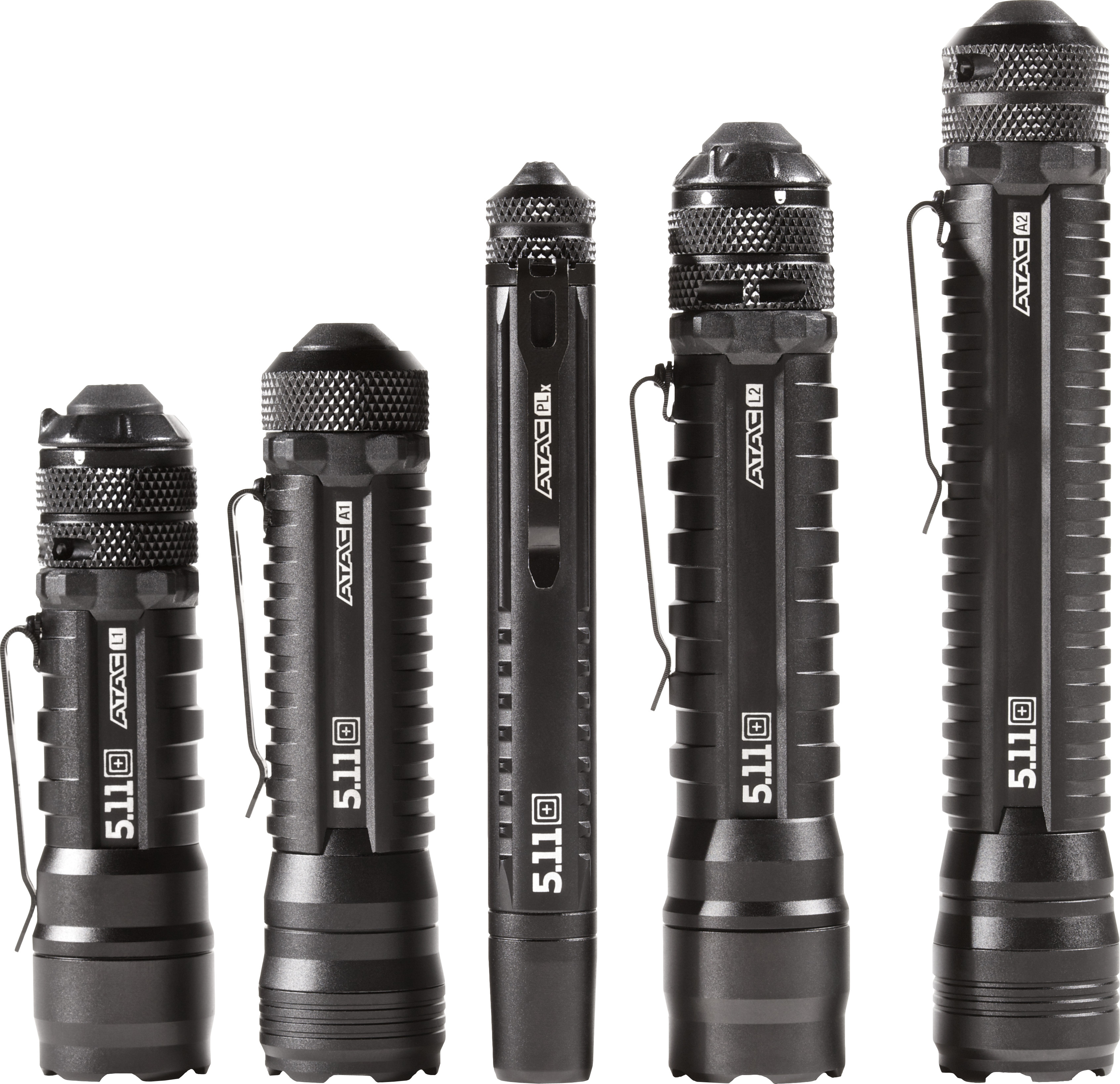 5.11 Tacticalr - Introducing the new ATACT line of battery-operated tactical flashlights