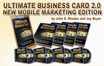 The Ultimate Business Card: Mobile Marketing Edition