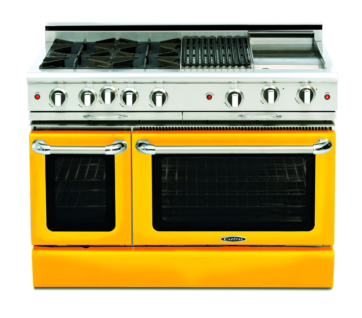 The Culinarian in one of it's 10 standard color finishes (also available in custom colors)