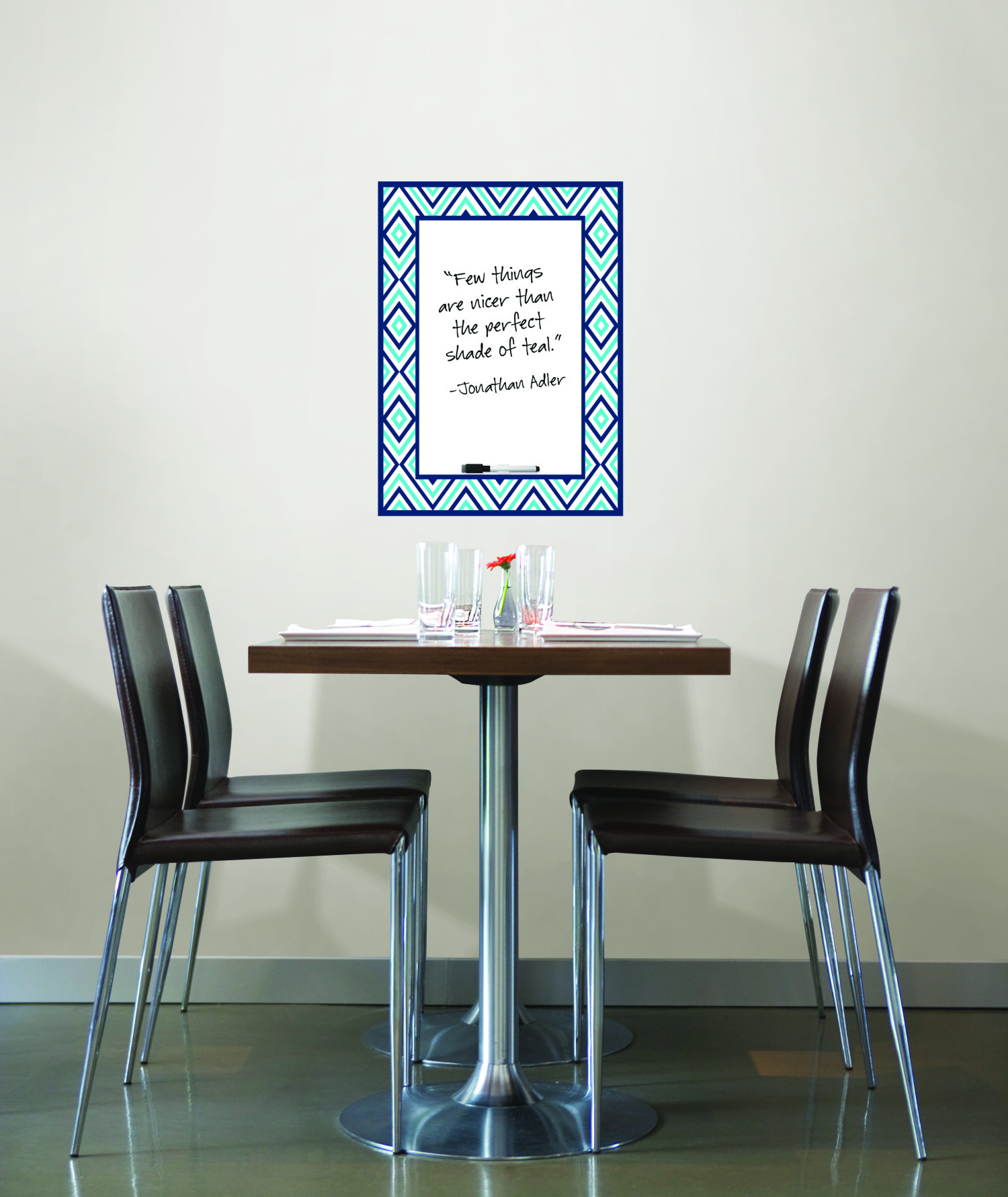 WallPops by Jonathan Adler Diamond Dry Erase Message Board