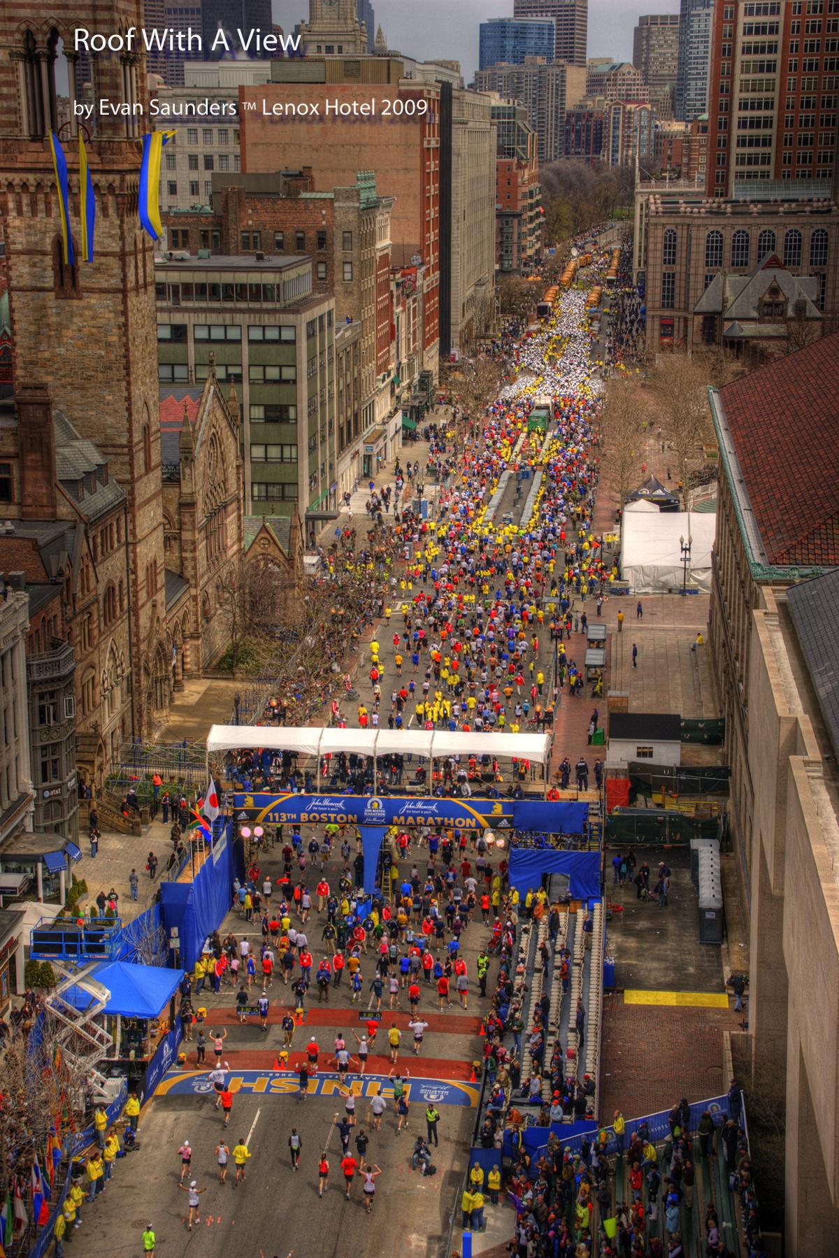 Lenox Hotel Proud To Support Filming Of Wincatherine During 2017 Boston Marathon