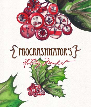 The first annual {Procrastinator&#39;s} Holiday Market was designed as a fun and relaxing community shopping experience and &quot;one-stop-shop&quot; for those who wait until the last minute to purchase holiday gifts and goods, and as a way to focus the local consumer on buying local during the 2011 holiday season. 