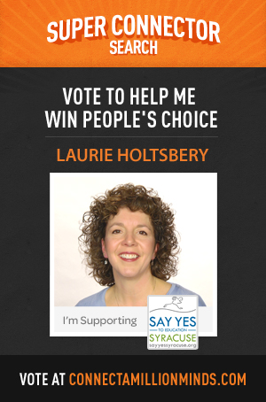 Syracuse Local Winner- Laurie Holtsbery