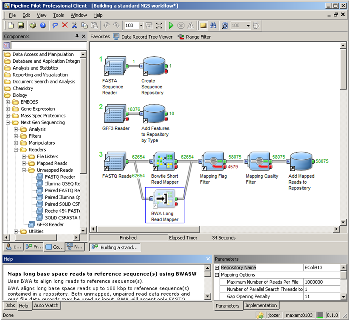 Accelrys Enhancements to NGS Collection for Pipeline Pilot Empower ...