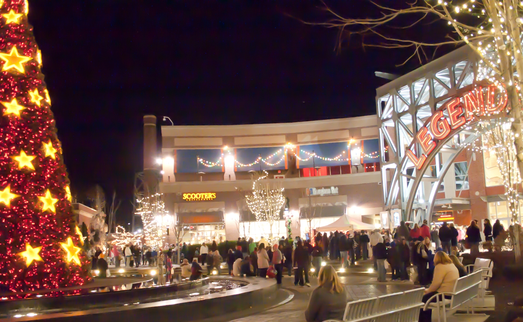 Legends Outlets opens on Thanksgiving (Thursday, November 24) at 10:00 p.m., with several retailers offering an addition 60 percent off the entire store.
