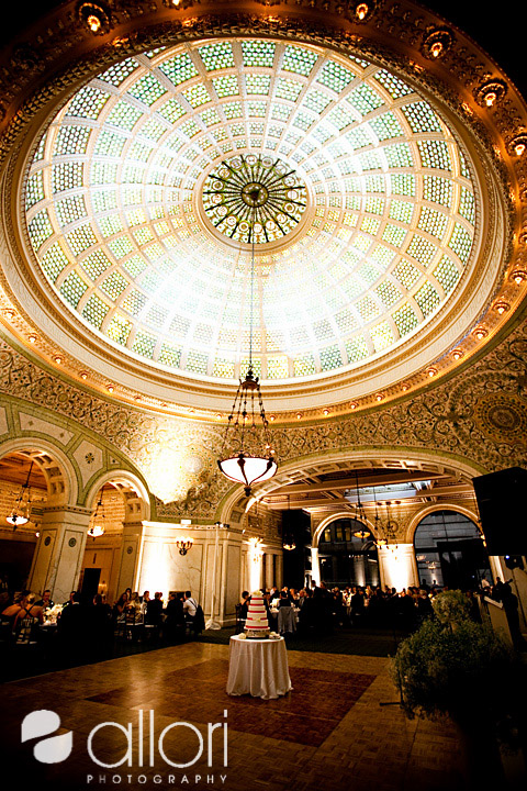 Chicago Cultural Center Wedding Reception Pictures