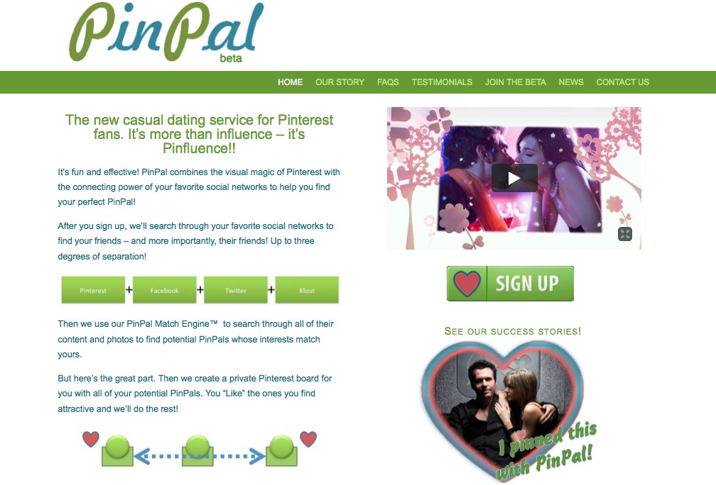 PinPal website