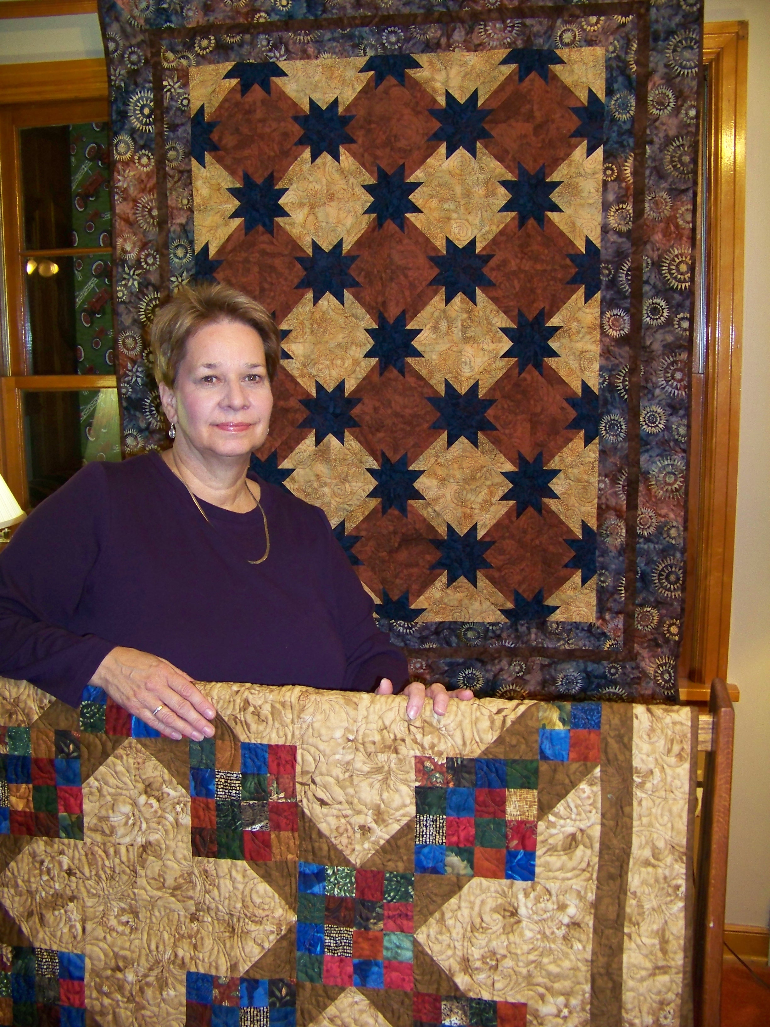 Quilter Pat Ehrenberg of Ripon
