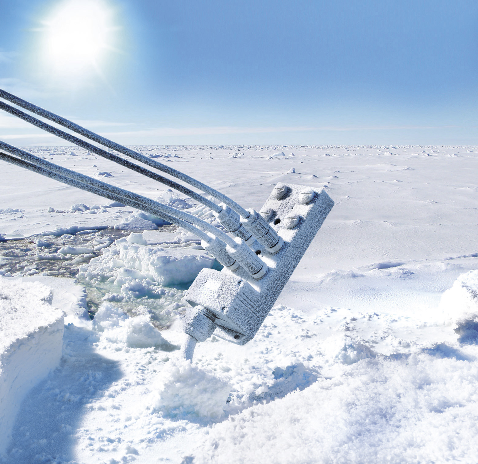 The M12 Outdoor product line guarantees dependable connections, even at temperatures between -40 and +105 degrees Celsius.