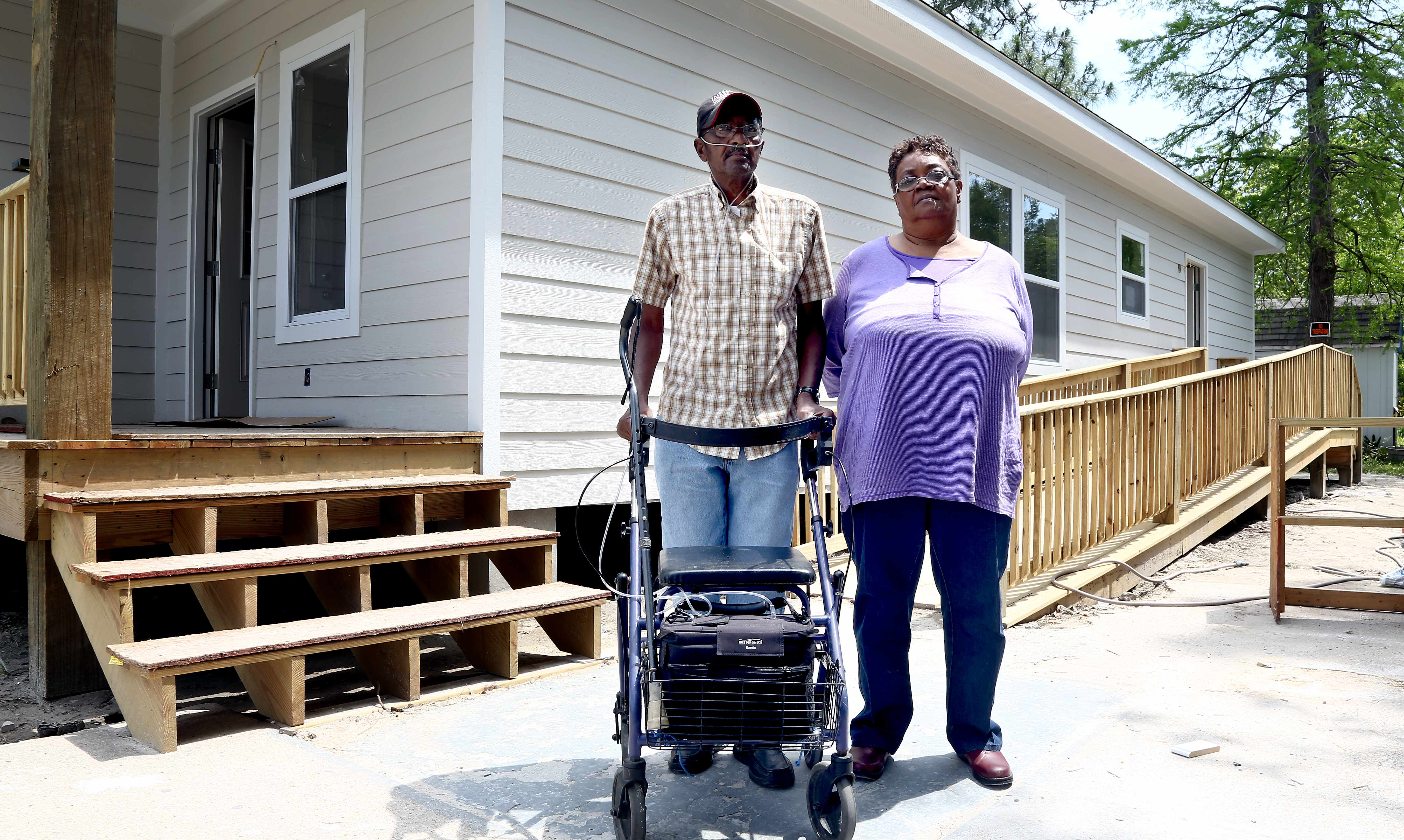 The Taylors, residents of Gulfport, Mississippi