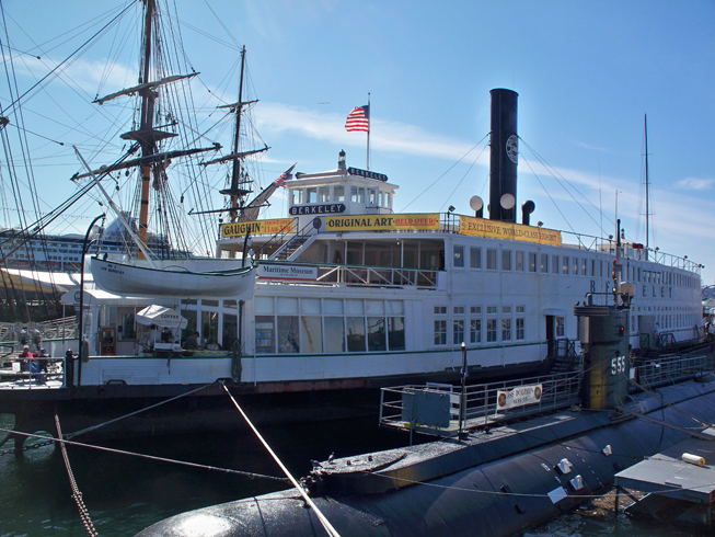 The conference will be held onboard the haunted Steam Ferry Berkeley