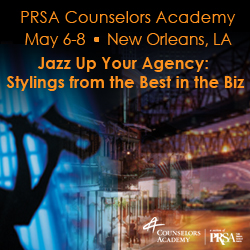 """Jazz Up Your Agency"" at The 2012 PRSA Counselors Academy Spring Conference in New Orleans, LA"
