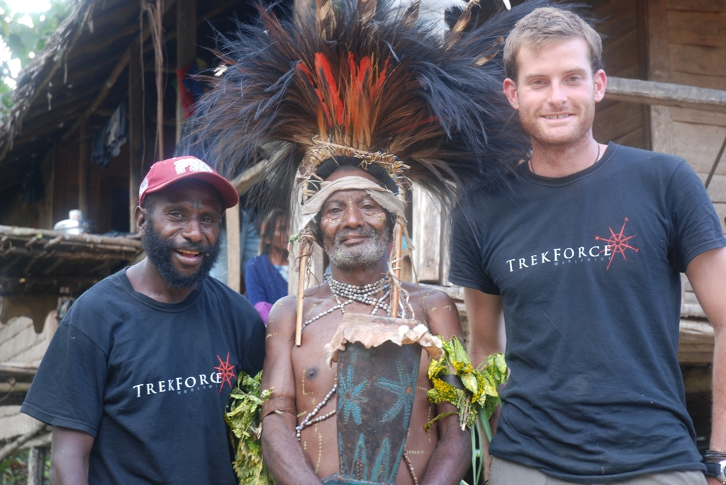 Meet interesting characters in Papua New Guinea with TrekForce. Photo credit: TrekForce
