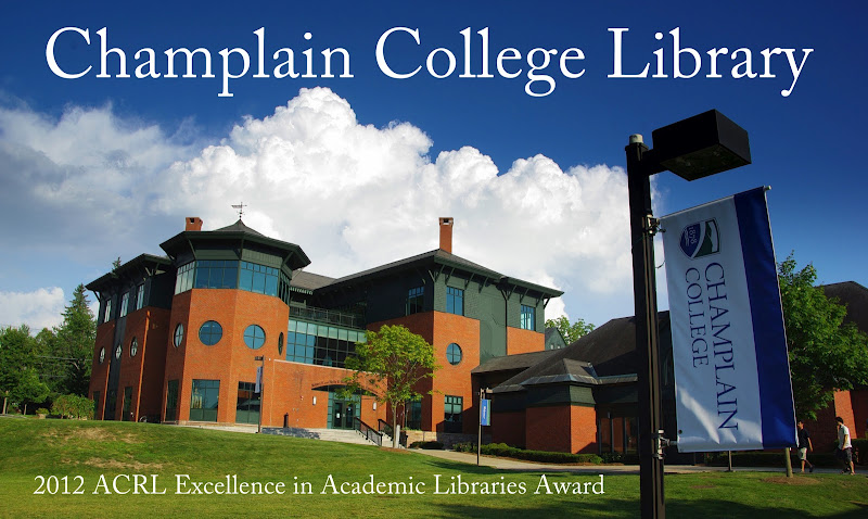 Champlain College Library Award