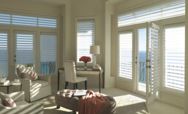 Help block sun damage to furnishings beautifully with 