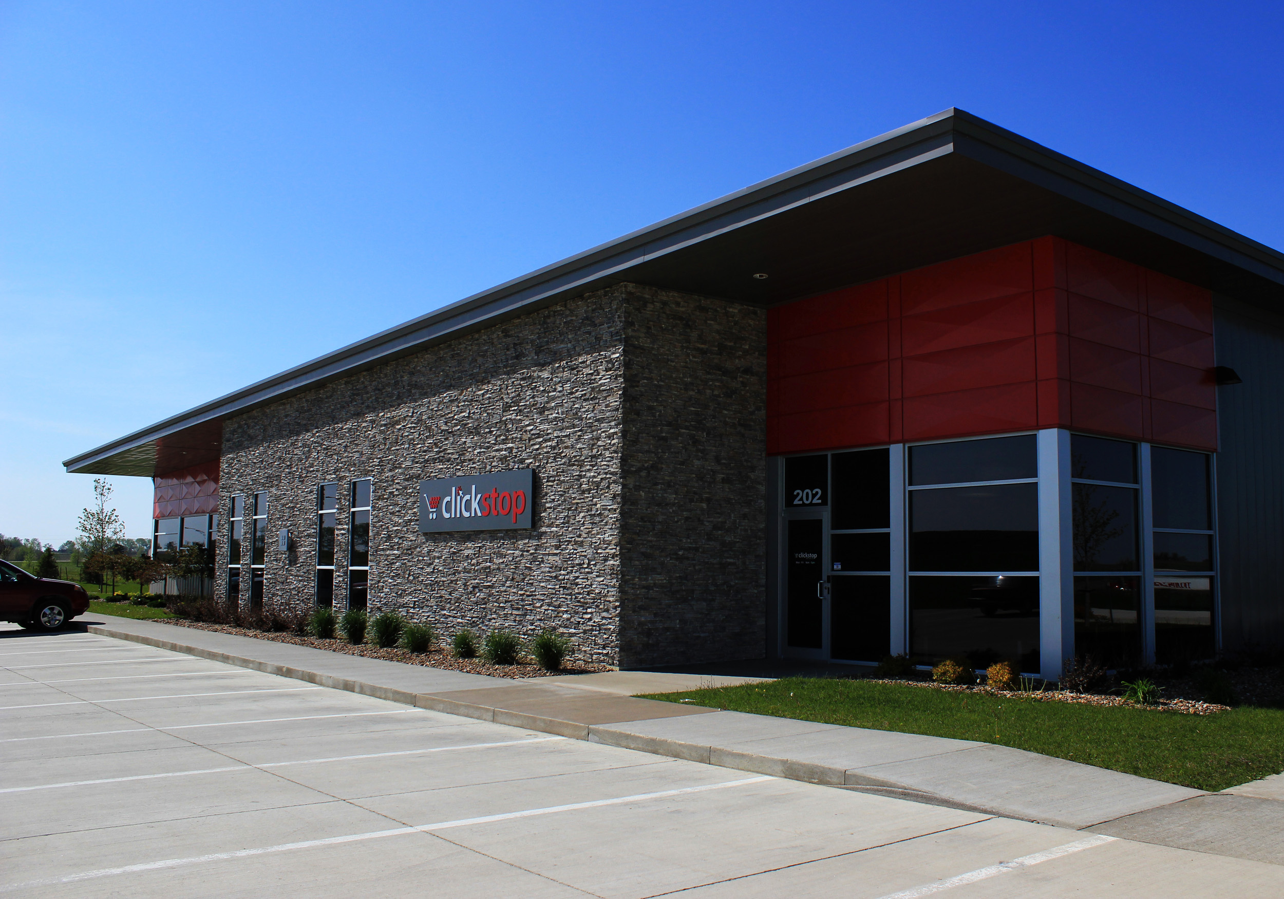 Clickstop's Urbana-based headquarters