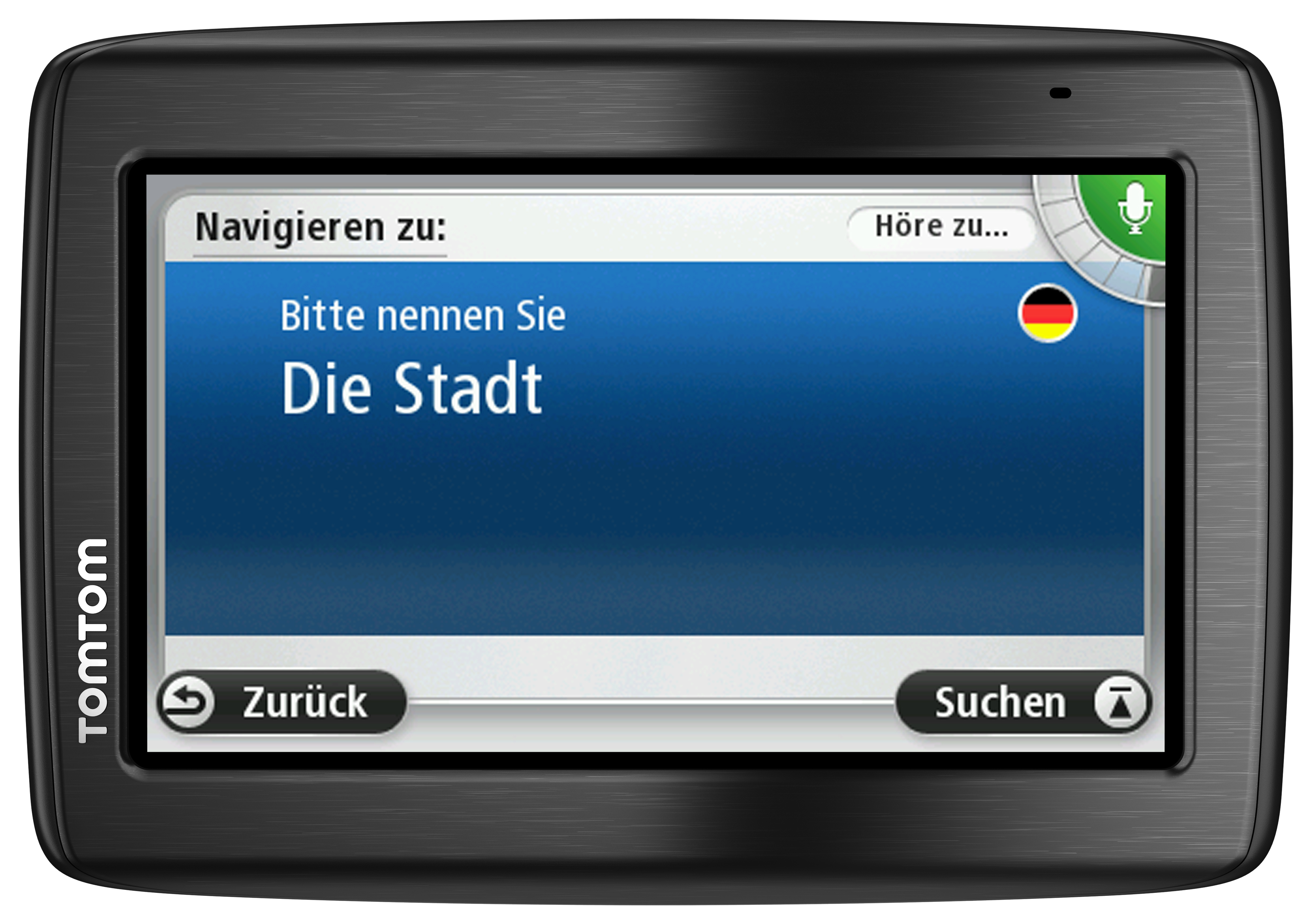...und der TomTom Via 130 mit der neuen Sprachsteuerungssoftware Speak &amp; Go f&#252;r 179 Euro in die Regale.