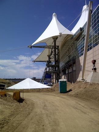 Construction At Denver International Airport