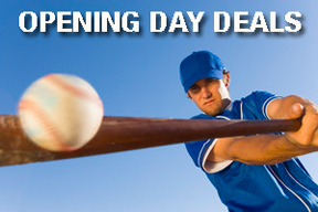 Opening Day Baseball Deals and FatWallet Cash Back