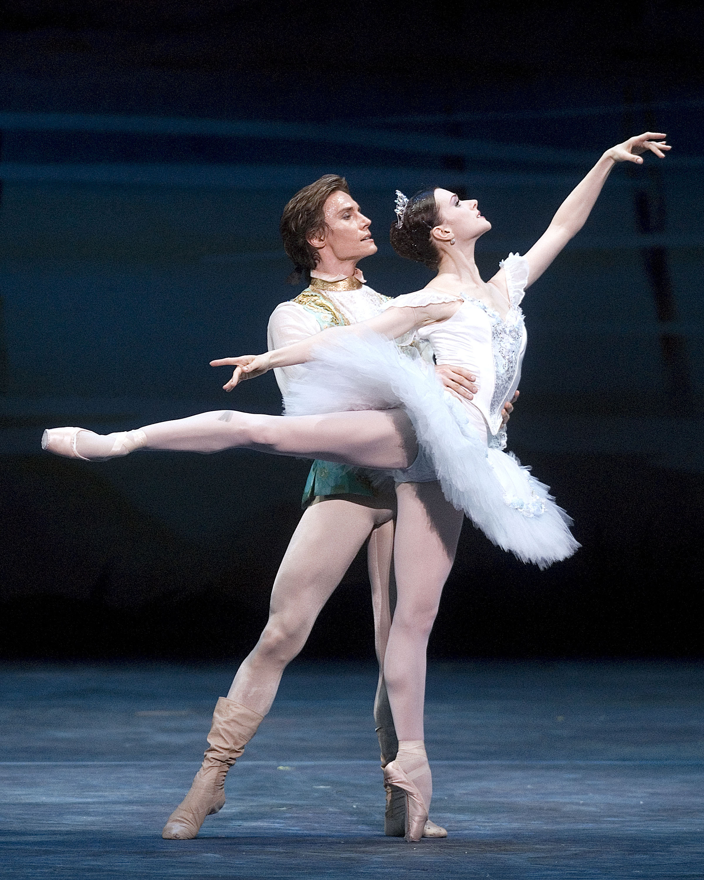 Irina Dvorovenko and Maxim Beloserkovsky, principal dancers with the American Ballet Theatre (ABT