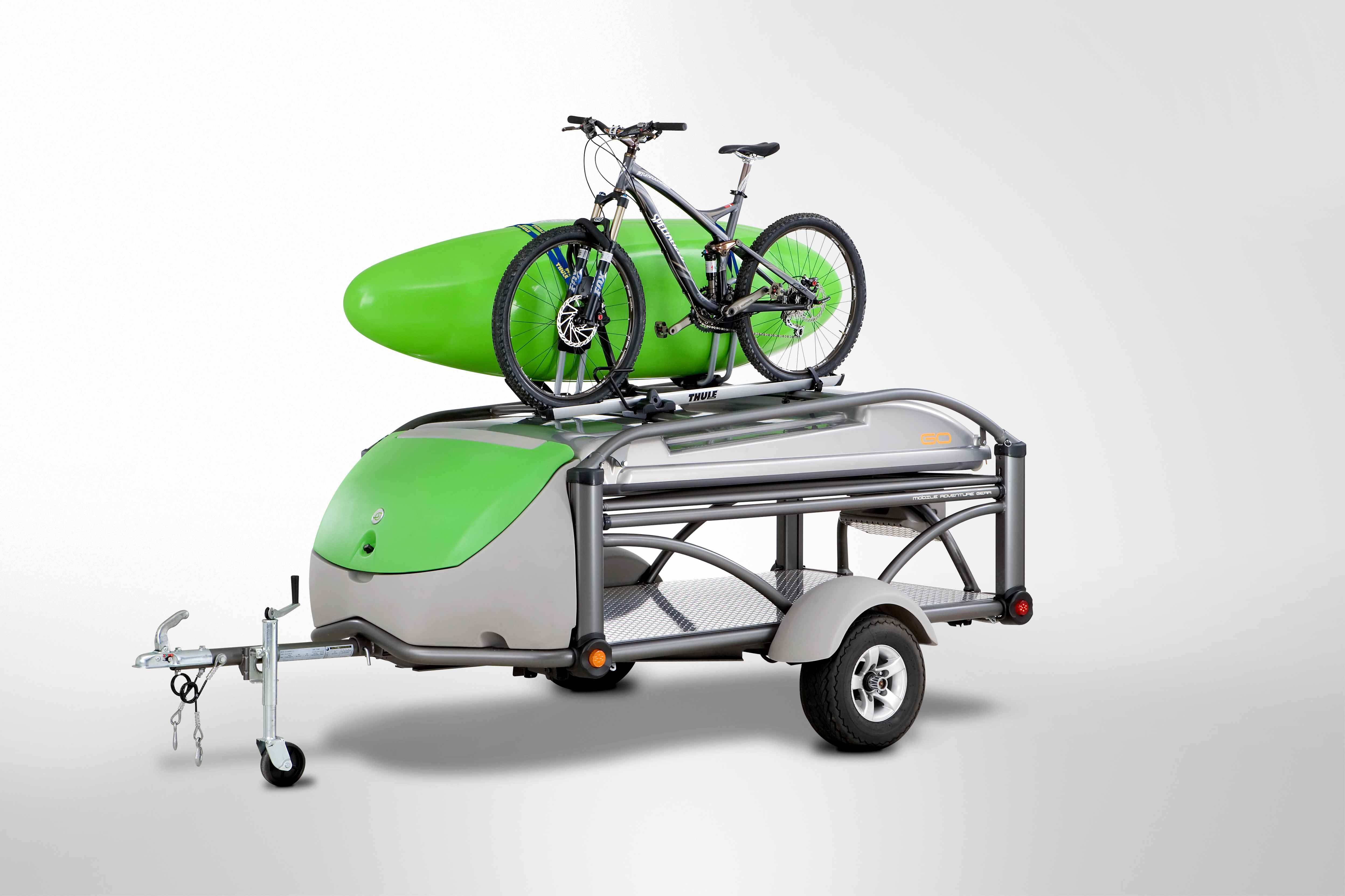 The SylvanSport GO in transport mode