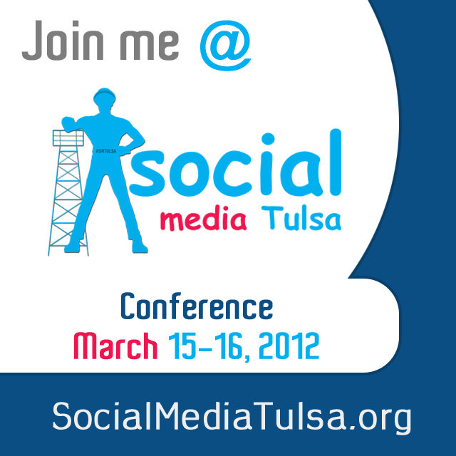 Social Media Tulsa Conference Badge