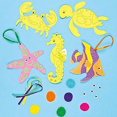 Make waves with kids 39 sealife arts and crafts activities for Sea life arts and crafts