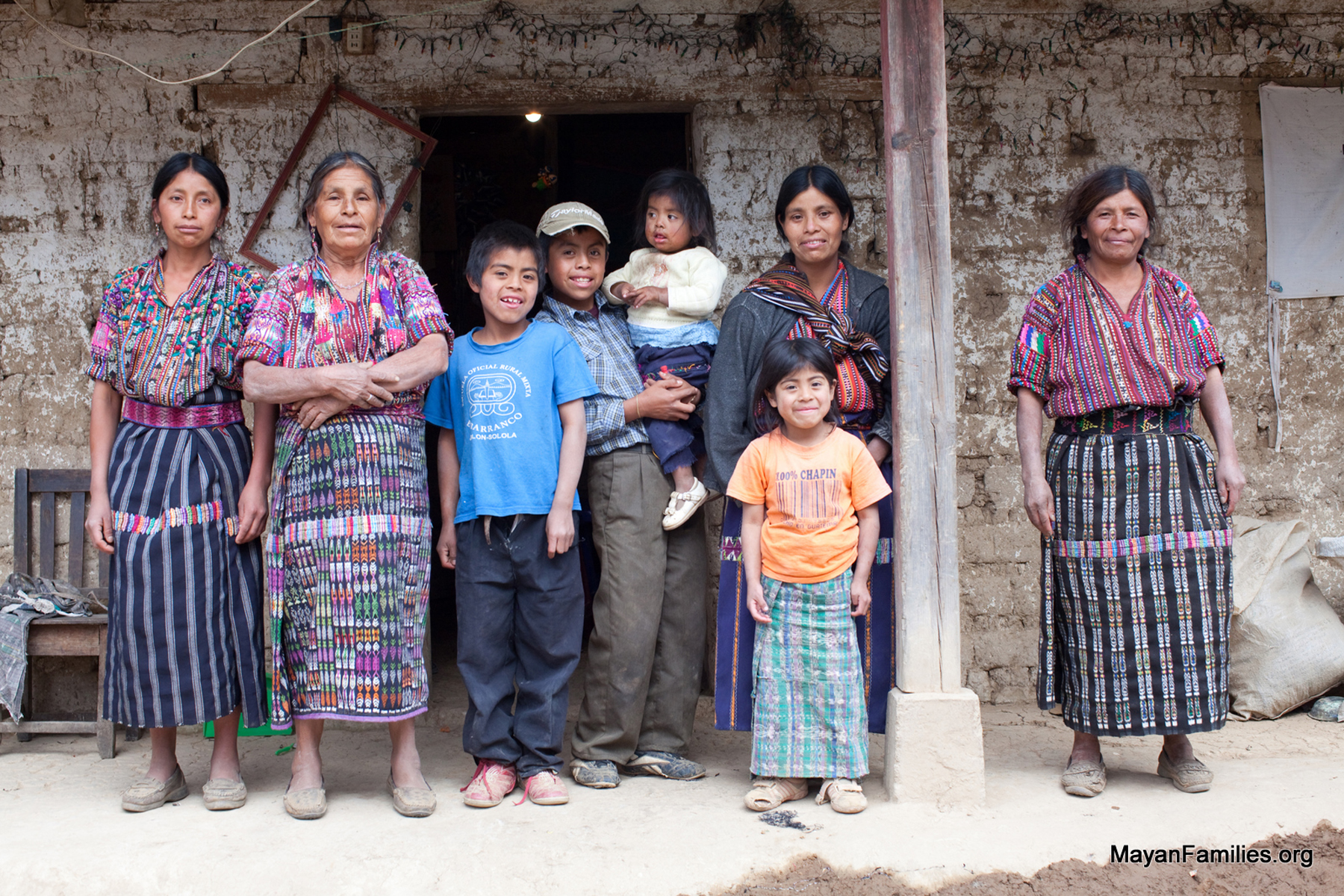 Mayan Families - hi res