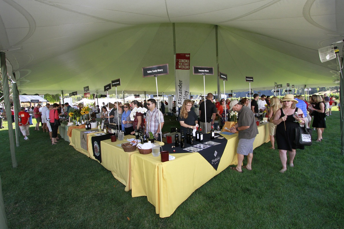Taste of Sonoma at MacMurray Ranch at Sonoma Wine Country Weekend SOLD OUT in 2011!