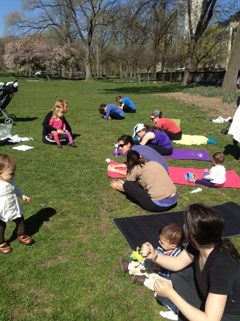 inSHAPE Fitness- Kid Friendly Central Park Boot Camp