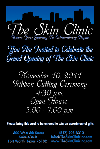 The Skin Clinic Hosts A Grand Opening Celebration