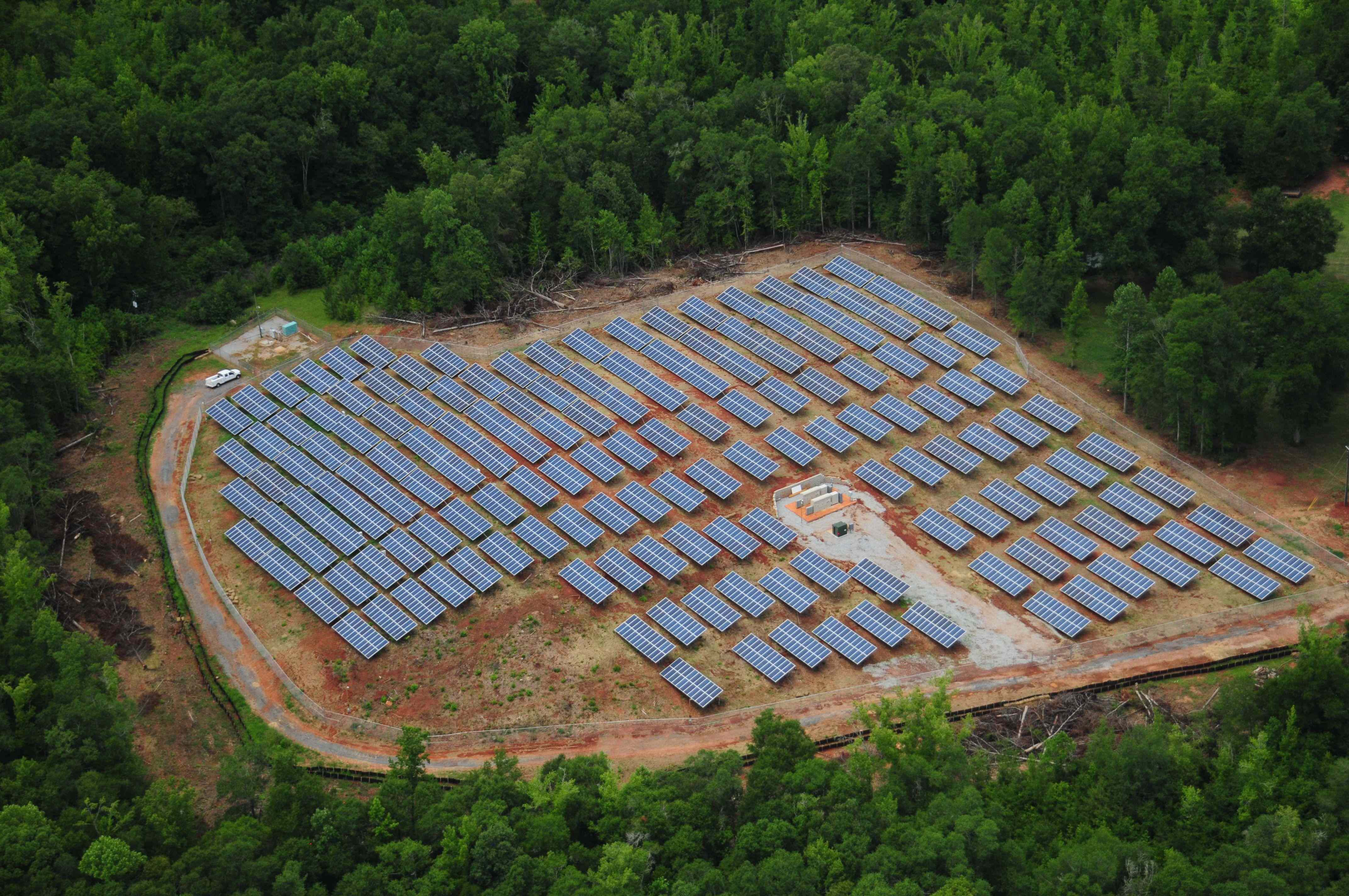 The Rocky Creek Solar Farm, built by Radiance Solar and Cantsink Manufacturing, became operational on June 14 and is now providing enough power to supply the electrical needs of approximately 300 homes.