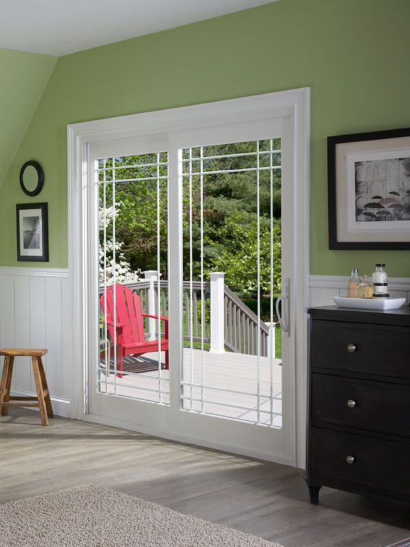 alside offers the classic elegance of french style doors in a sliding door design with promenadet patio doors - Patio Doors French