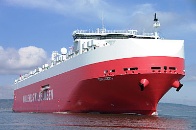 The new generation Mark V vessels are important contributers to reducing CO2 emissions per tonne kilometre.