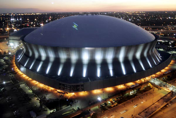 Super bowl luxury suites and super bowl packages new for Hotels near mercedes benz superdome in new orleans
