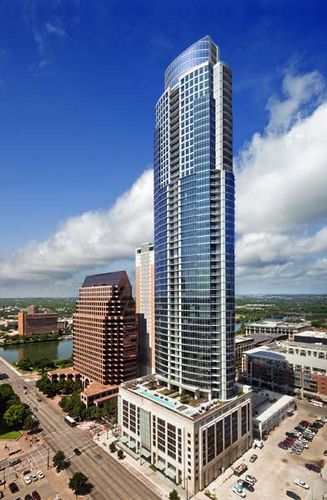 The Austonian in downtown Austin, Texas