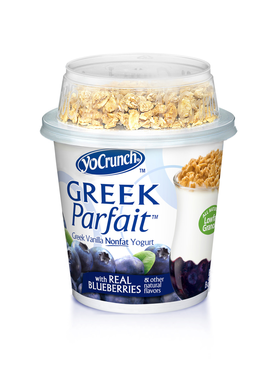 Greek Parfait - Blueberry