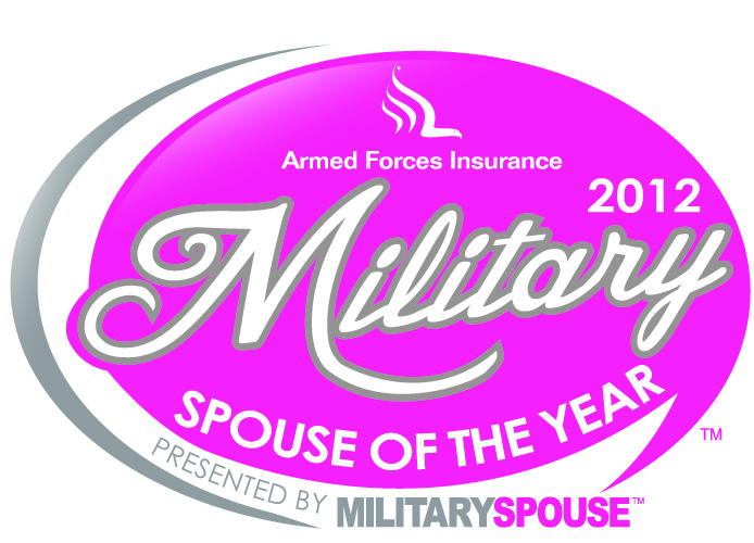 Logo: Armed Forces Insurance 2012 Military Spouse of the Year presented by Military Spouse magazine