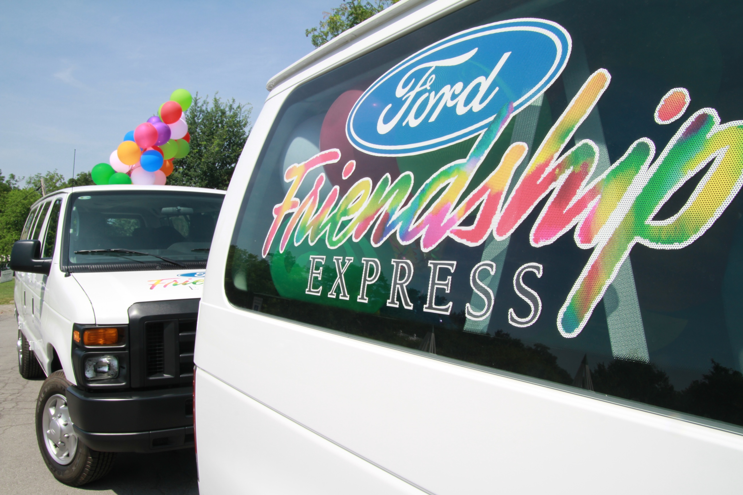 The Rochester Area Ford Dealers will announce the 2012 Ford Friendship Express van recipient during the Rochester International Auto Show in early March.