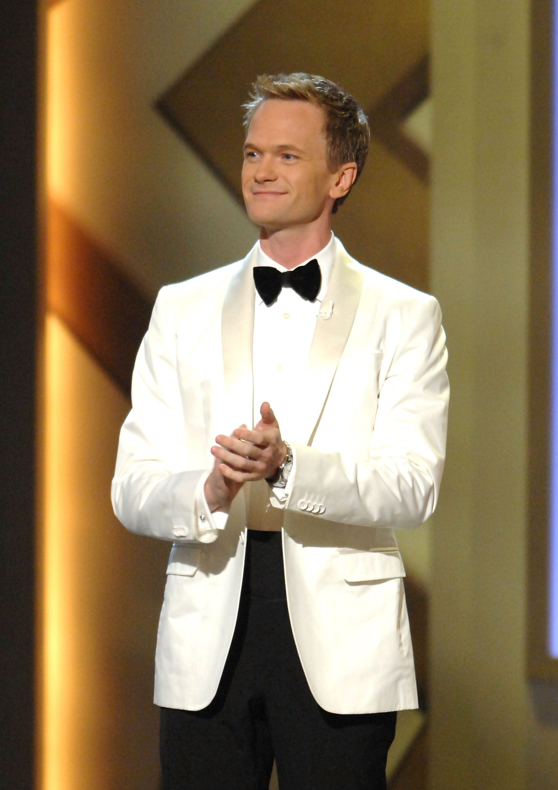 Actor Neil Patrick Harris emcees the opening celebration at The Smith Center for the Performing Arts in Las Vegas