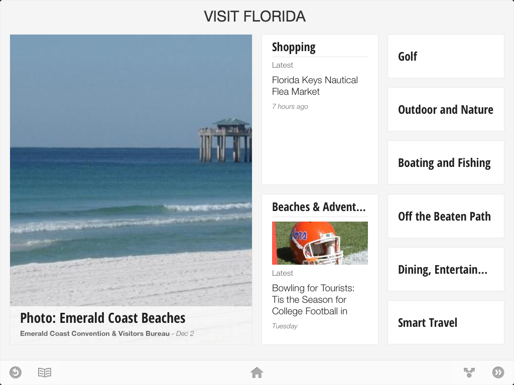 VISIT FLORIDA on Google Currents